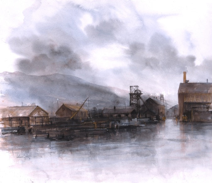 Blaenant Colliery 51 x 44 cm print Sold on Behalf of Valerie Ganz