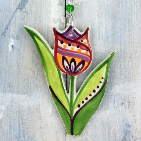 Multicolour Tulip Decoration