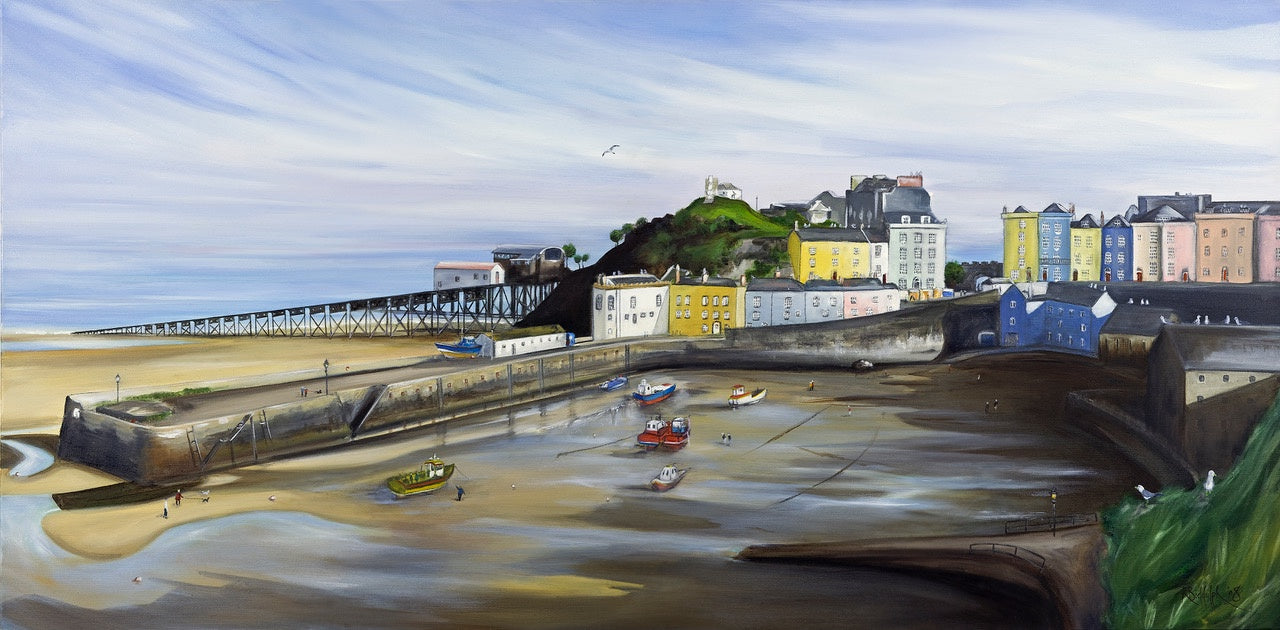 Tenby Harbour 2 Print sold on behalf of Rachel Biddulph