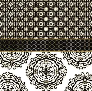 Madaket Black Gold Napkins