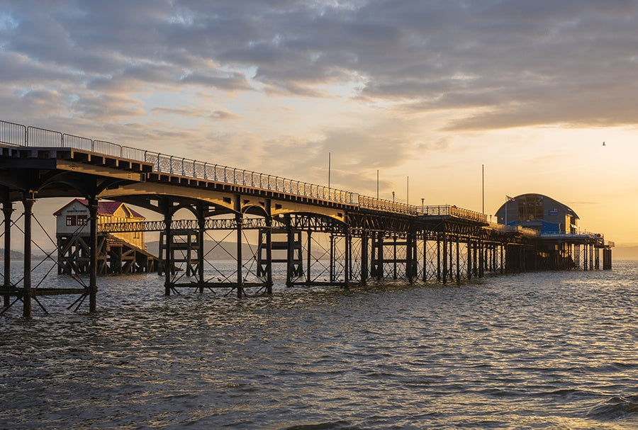 Sunrise Mumbles Pier 2 sold on behalf of Noodle Photography