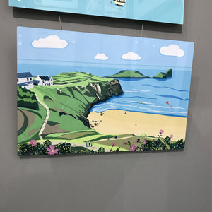 Worms Head Chromaluxe Print Panel sold on behalf of Noodle Design