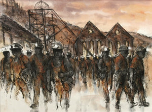 Six Bells Colliery 61 x 45 cm print Sold on Behalf of Valerie Ganz