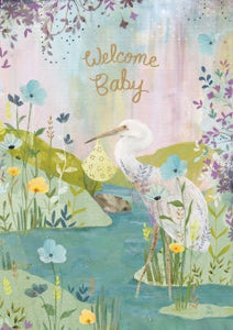 Welcome Baby Card - GC2153