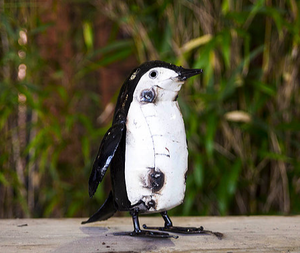 Penguin Recycled Metal