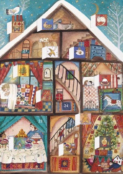 Advent Calendar Card Little House - ACC033