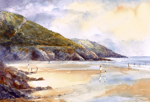 End of the Holidays Caswell Ltd Ed Print sold on behalf of R N Banning