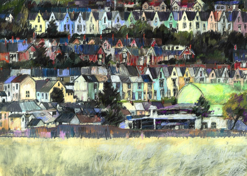 The Patti Pavilion and Uplands print sold on behalf of Arwen Banning
