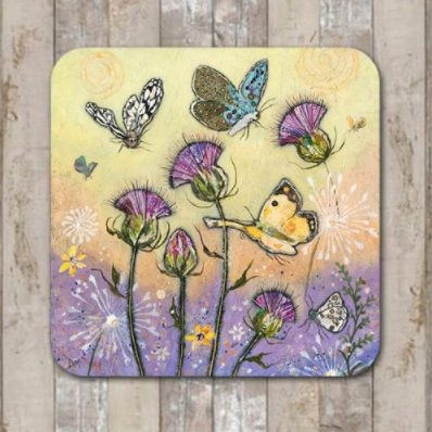 Coaster Flutterbies up by Dawn Maciocia