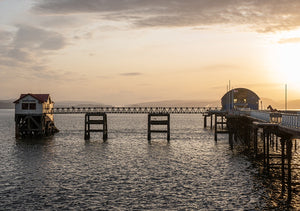 Sunrise Mumbles Pier 1 sold on behalf of Noodle Photography
