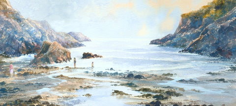 After School Brandy Cove Ltd Ed Print sold on behalf of R N Banning