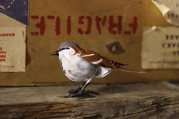 Sparrow Recycled Metal