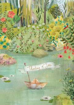 Dreamland Thinking of you Greetings Card