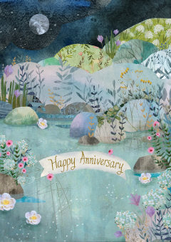 Happy Anniversary Dreamland Card