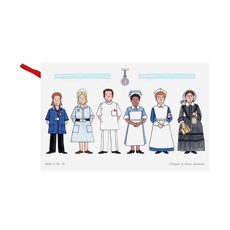 Nursing Tea Towel
