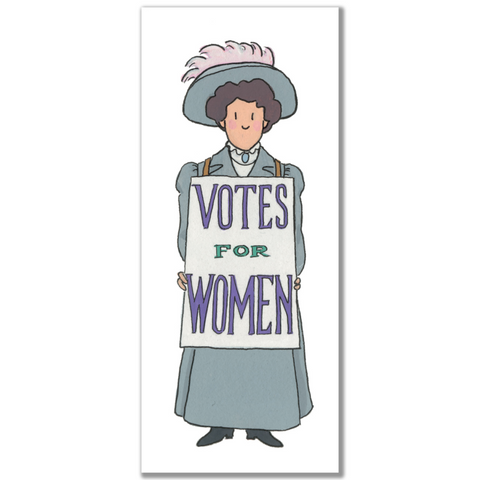 Suffragette 01 Magnetic Bookmark by Alison Gardiner