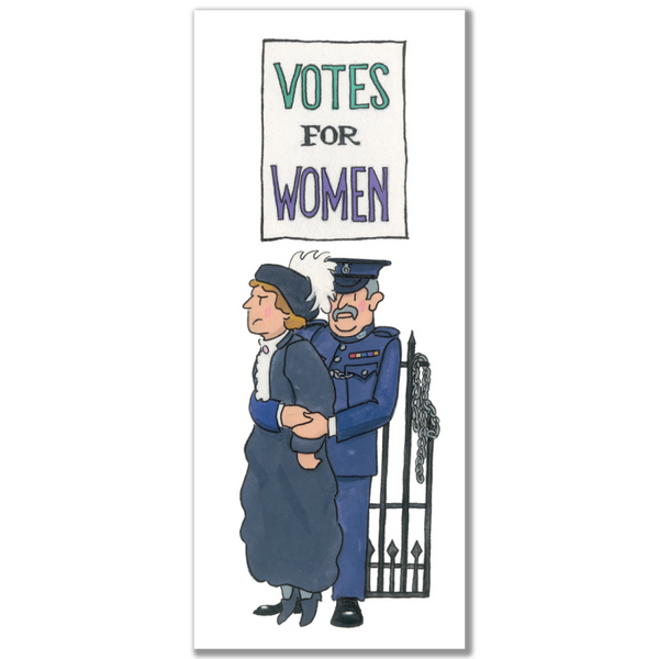 Suffragette 02 Magnetic Bookmark by Alison Gardiner