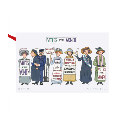 Suffragette Tea Towel