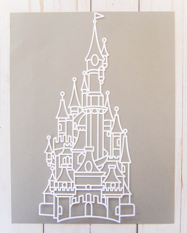 """Castle"" Cardstock Cut"