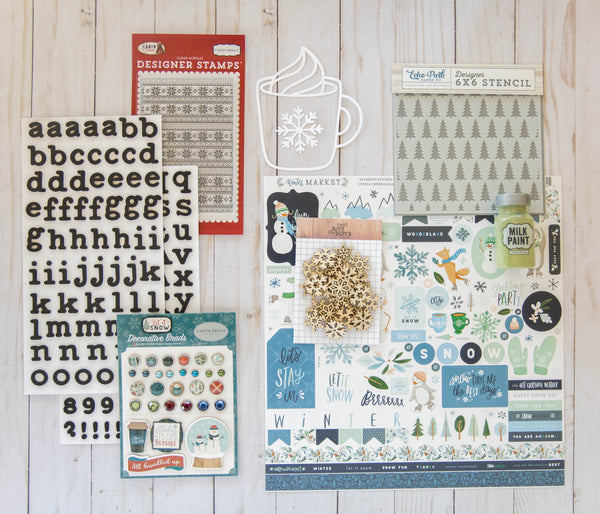 """Flurries"" Deluxe Theme Kit"
