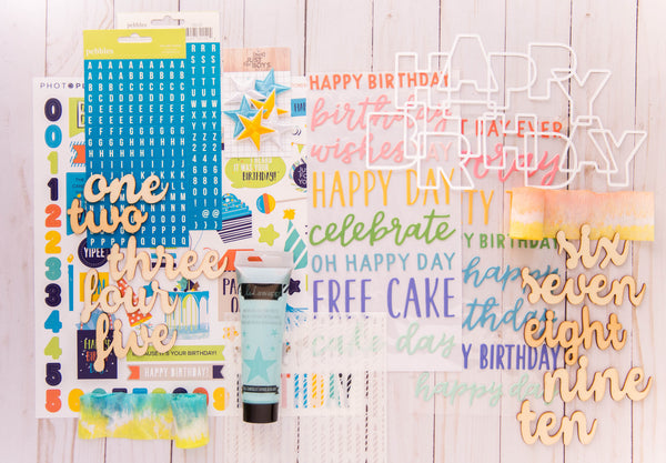 """Birthday Bash"" Deluxe Theme Kit"