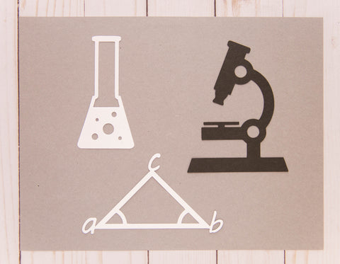 STEM Set of Cardstock Cuts