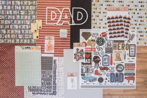 """Dad is Rad"" Deluxe Theme Kit"