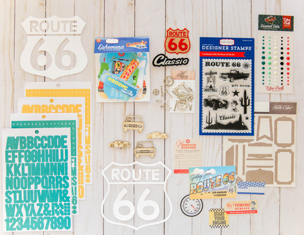 """Route 66"" Deluxe Theme Kit"