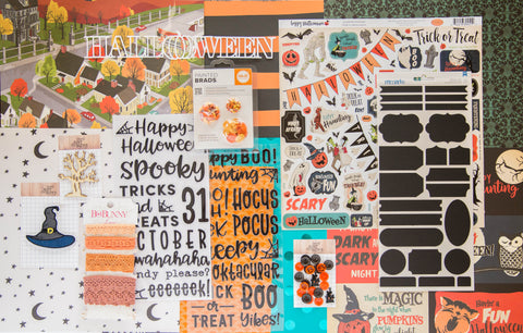 """Spooky Nights"" Deluxe Theme Kit"