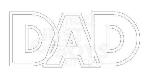 """Dad"" Cut File"
