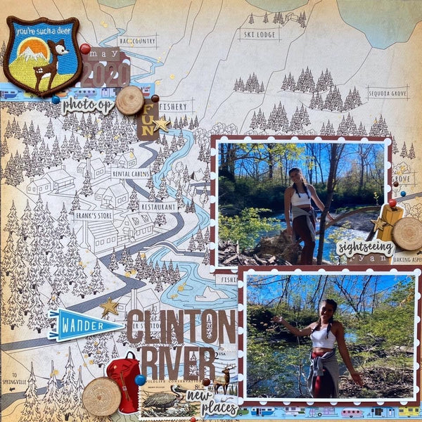 """Great Outdoors"" Deluxe Theme Kit"