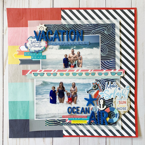 """Down by the Sea"" Deluxe Theme Kit"