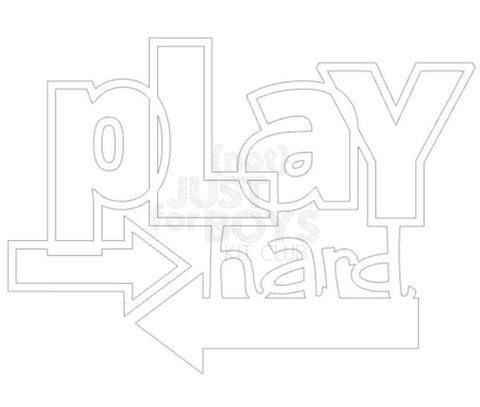 """Play Hard"" Cut File"