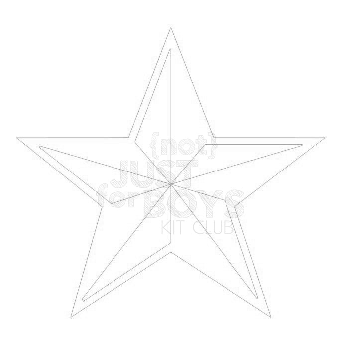 """Star"" Cut File"