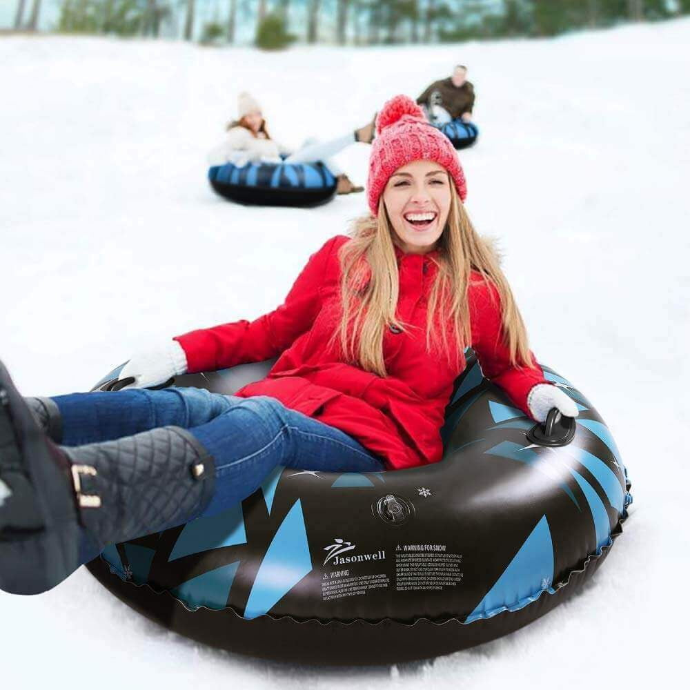 Jasonwell 47 Inch Inflatable Snow Sled - Jasonwell
