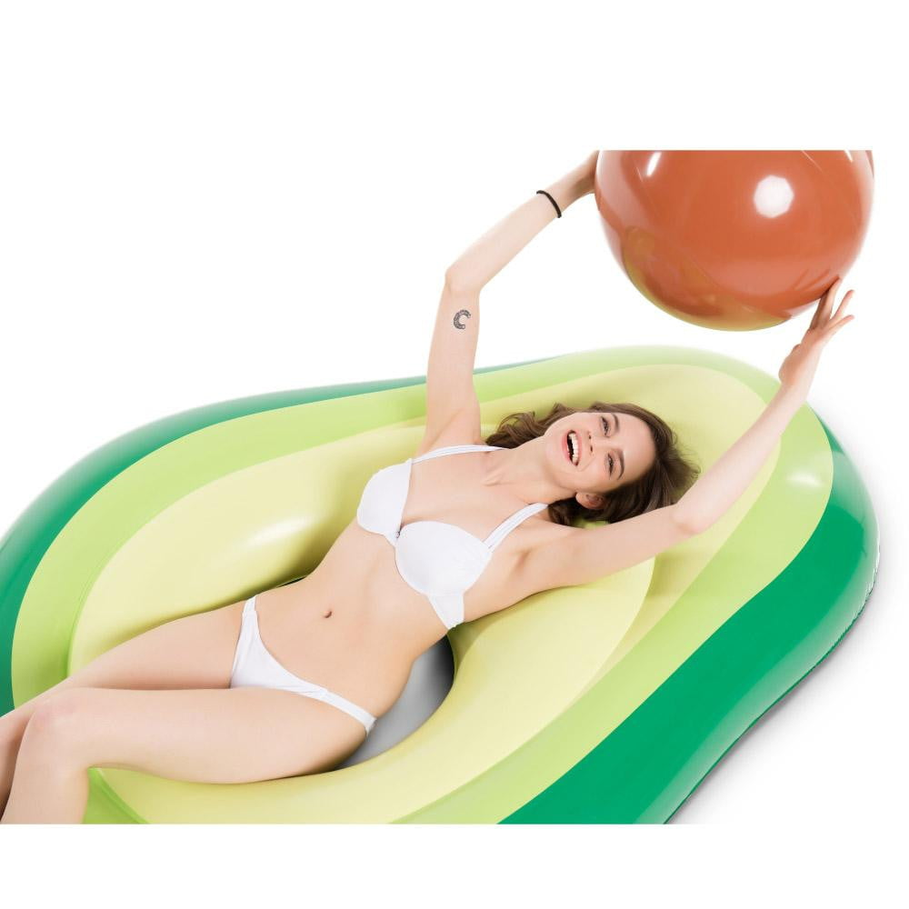 Avocado Inflatable Pool Float - Jasonwell