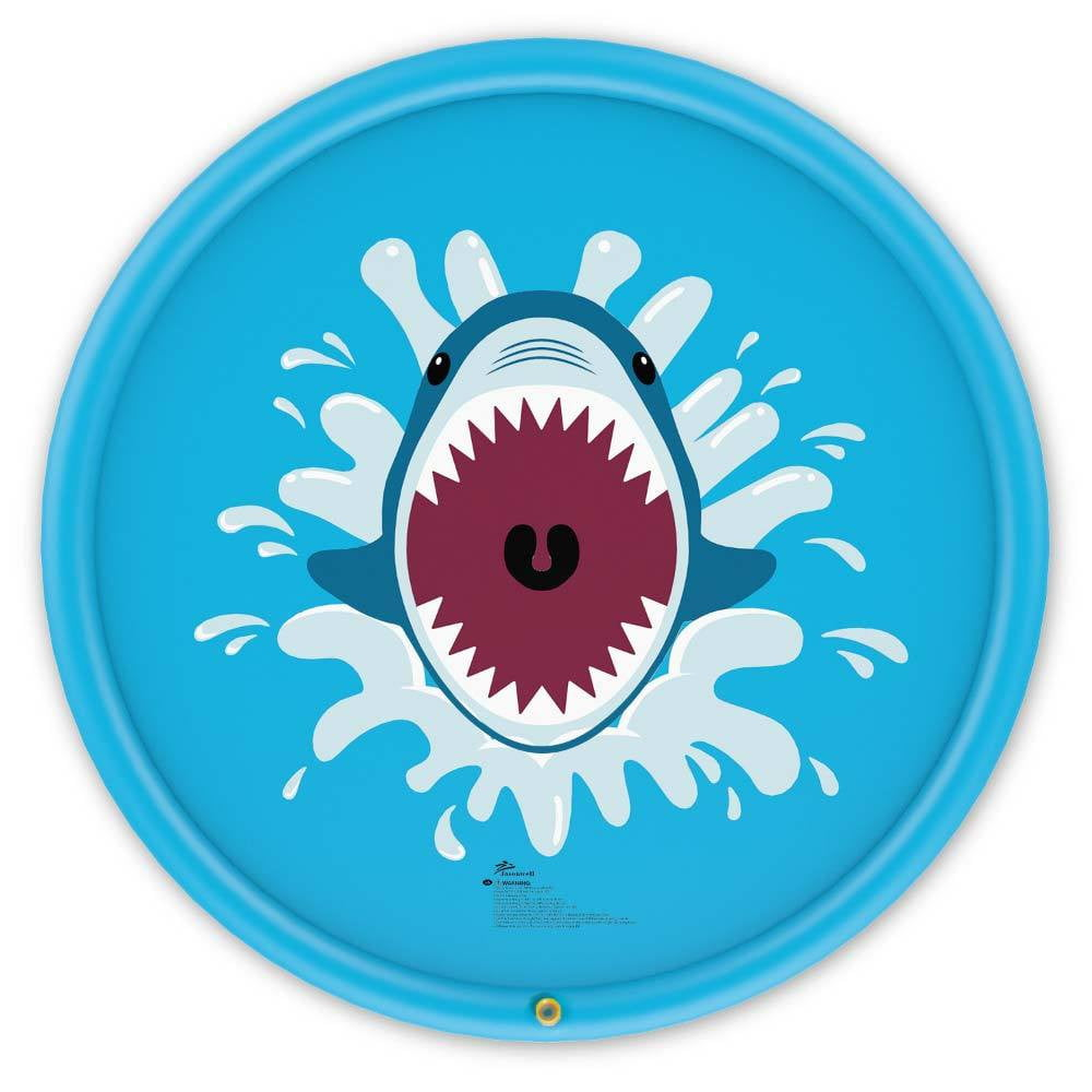 Shark Sprinkle & Splash Play Mat - Jasonwell
