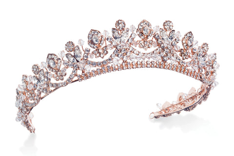 diademe rose gold