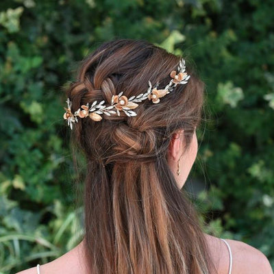 HEADBAND DE MARIAGE<BR>Corinthia - MP Paris