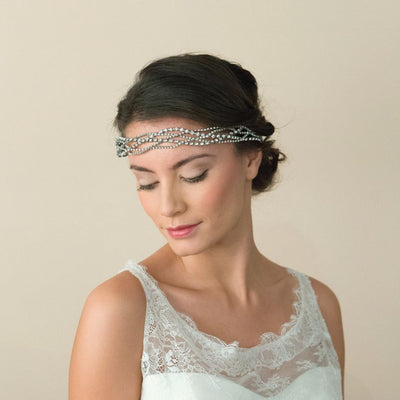 HEADBAND MARIEE<BR>Marcia - MP Paris