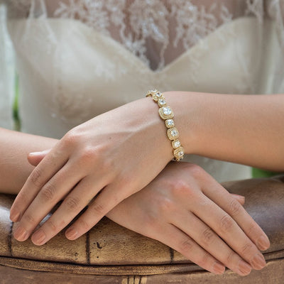 Bracelet de mariée<br>Belize Or - MP Paris