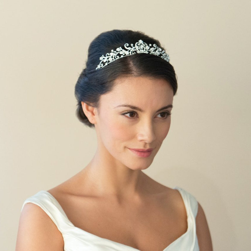 DIADEME MARIAGE STRASS<br>Caitlin - MP Paris