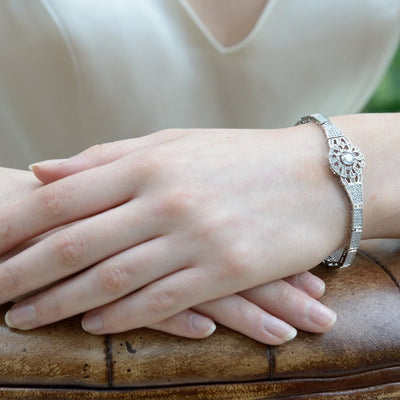 Bracelet de mariée<br>Carlton - MP Paris