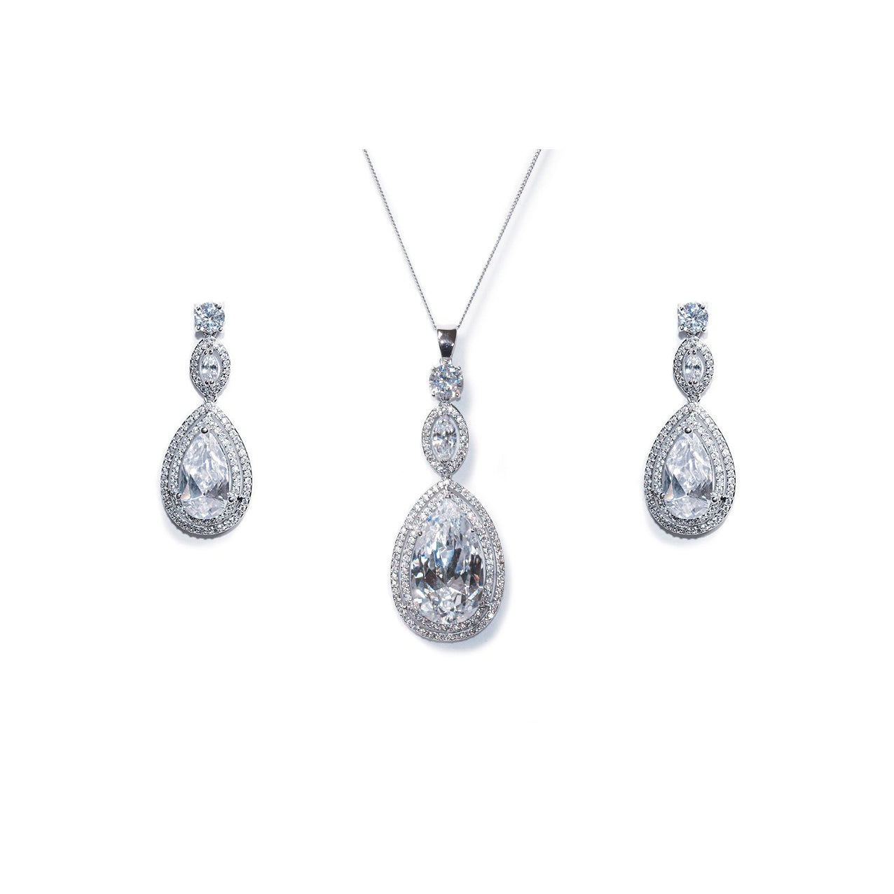Parure Collier - Boucles d'oreilles<br>Cotton Club - MP Paris