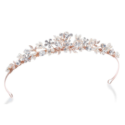 Couronne de princesse<br>Melody Or rose - MP Paris