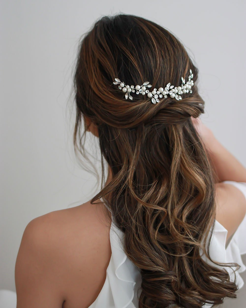 HEADBAND CHEVEUX<BR>Emmy Floral