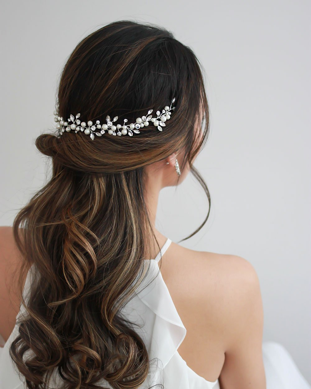 HEADBAND CHEVEUX<BR>Emmy Pearl