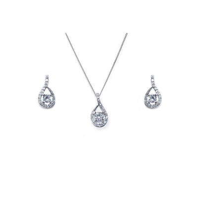 Parure Collier - Boucles d'oreilles<br>Eternity - MP Paris