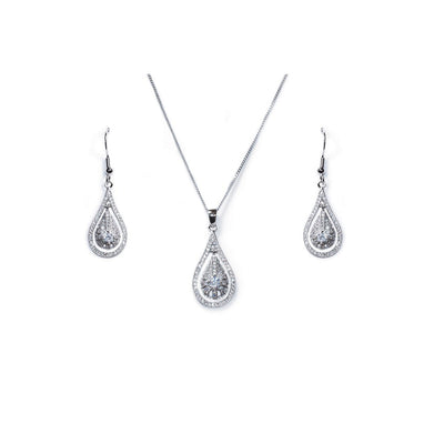 Parure Collier - Boucles d'oreilles<br>Fifth Avenue - MP Paris