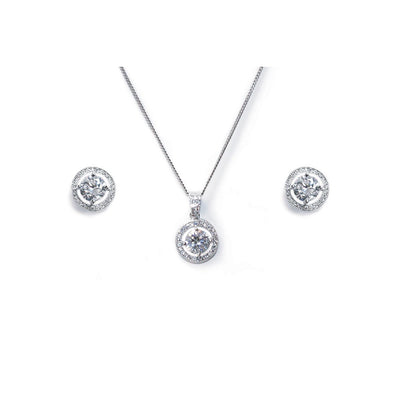 Parure Collier - Boucles d'oreilles<br>Hampton - MP Paris